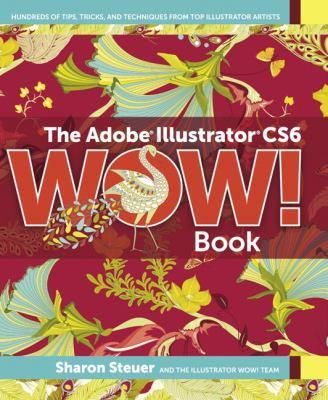 Adobe Illustrator CS6 WOW! Book   2013 edition cover