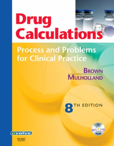 Drug Calculations Process and Problems for Clinical Practice 8th 2007 (Revised) edition cover