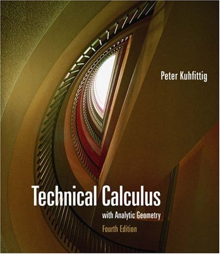 Technical Calculus with Analytic Geometry  4th 2006 edition cover