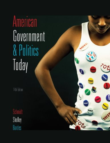 American Government and Politics Today  14th 2009 9780495568766 Front Cover