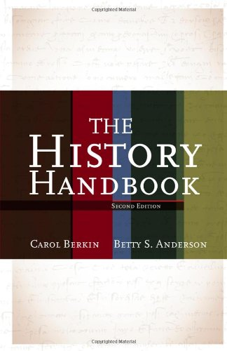 History Handbook  2nd 2012 (Handbook (Instructor's)) edition cover