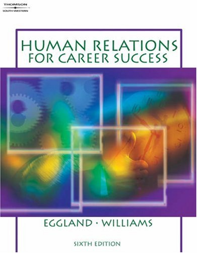 Human Relations for Career Success  6th 2005 (Revised) 9780538438766 Front Cover