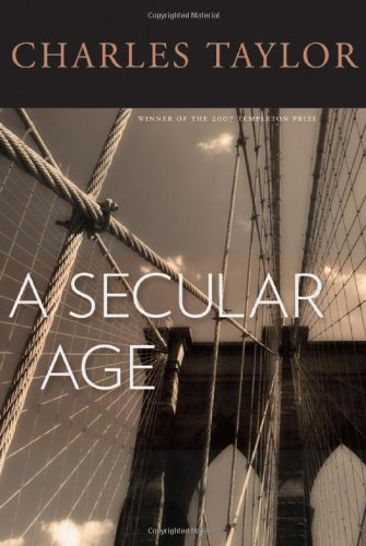 Secular Age   2007 edition cover