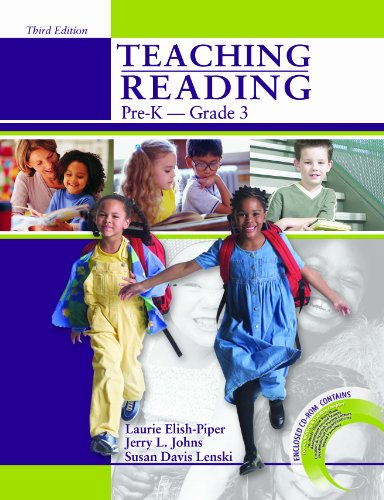Teaching Reading Pre-K to Grade 3 W/CD-ROM  3rd 2006 (Revised) edition cover