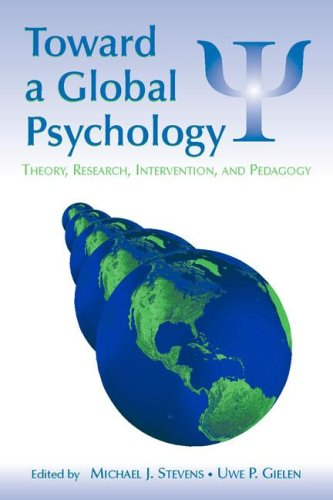 Toward a Global Psychology Theory, Research, Intervention, and Pedagogy  2006 edition cover