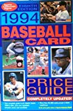 Baseball Card Price Guide 8th 9780873412766 Front Cover