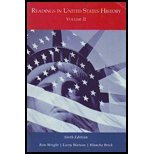 READINGS IN U.S.HISTORY,VOL.II N/A edition cover