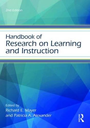 Handbook of Research on Learning and Instruction  2nd 2017 (Revised) 9781138831766 Front Cover