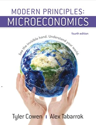 Modern Principles of Microeconomics  4th 2018 9781319098766 Front Cover