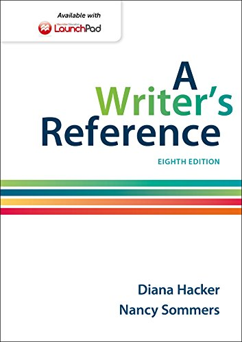 A Writer's Reference: 8th 2014 9781457666766 Front Cover