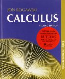 Rutgers Calculus Early Transcendentals Combo and Ebook Access Card (12 Months) N/A edition cover