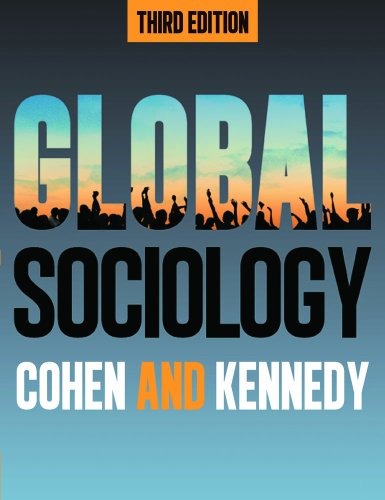 Global Sociology  3rd 2013 edition cover