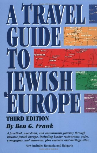 Travel Guide to Jewish Europe  3rd 2001 edition cover