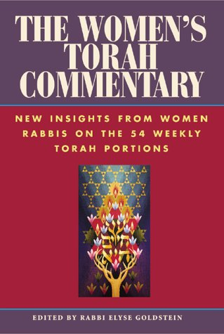 Women's Torah Commentary New Insights from Women Rabbis on the 54 Weekly Torah Portions  2000 edition cover