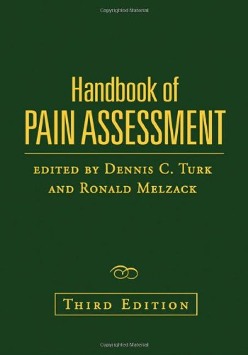 Handbook of Pain Assessment  3rd 2011 (Revised) edition cover