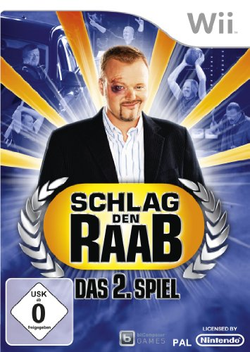 Schlag den Raab 2 [German Version] by Atari Nintendo Wii artwork