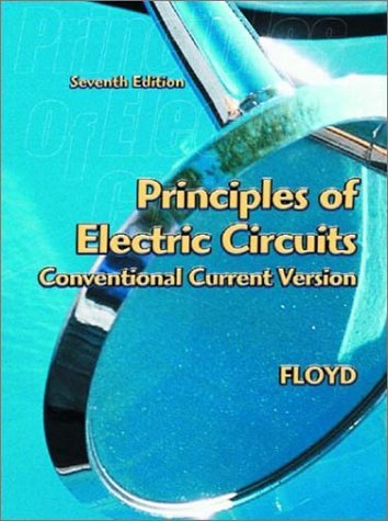 Principles of Electric Circuits Conventional Current Version 7th 2003 edition cover