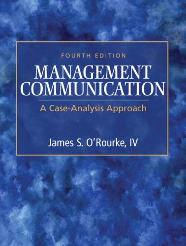 Management Communication A Case-Analysis Approach 4th 2010 edition cover
