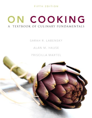 On Cooking A Textbook of Culinary Fundamentals 5th 2011 edition cover
