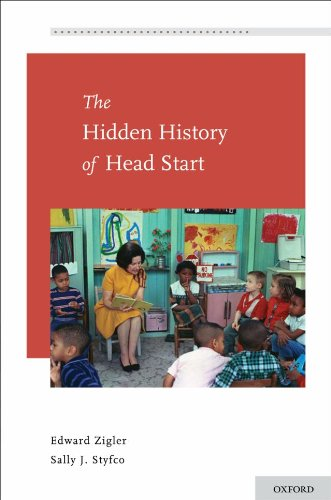 Hidden History of Head Start   2010 9780195393767 Front Cover