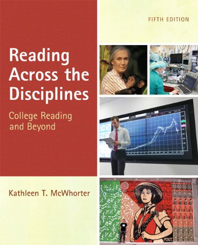 Reading Across the Disciplines  5th 2012 (Revised) edition cover