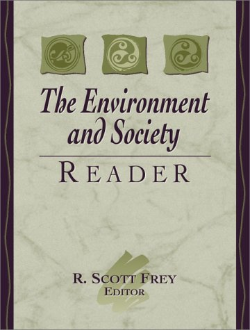 Environment and Society Reader   2001 edition cover