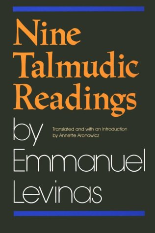 Nine Talmudic Readings by Emmanuel Levinas   1990 edition cover
