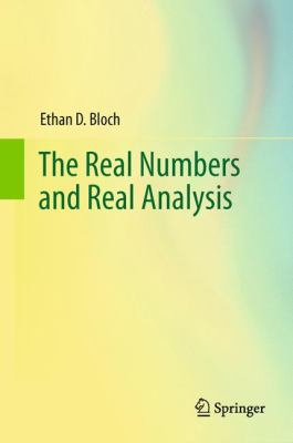 Real Numbers and Real Analysis   2011 edition cover