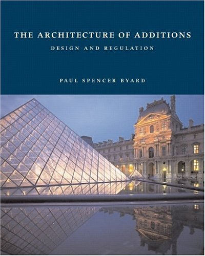 Architecture of Additions Design and Regulation  2005 edition cover
