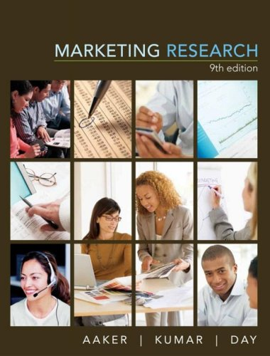 Marketing Research  9th 2007 (Revised) edition cover