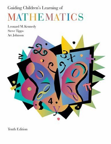 Guiding Children's Learning of Mathematics  10th 2004 (Revised) 9780534608767 Front Cover