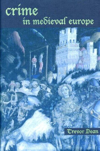 Crime in Medieval Europe 1200-1550  2001 edition cover