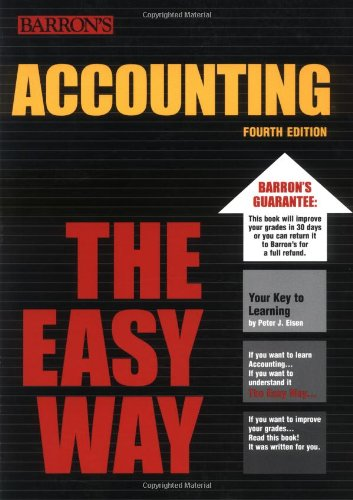 Accounting the Easy Way  4th 2003 edition cover