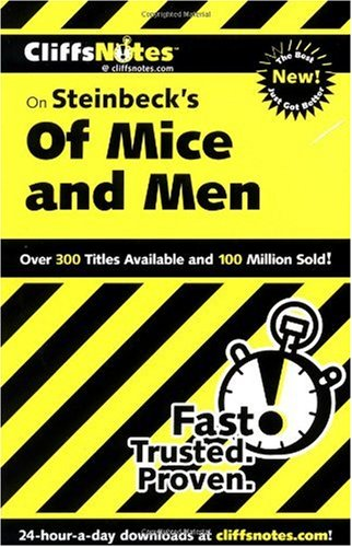 Steinbeck's of Mice and Men   2001 edition cover