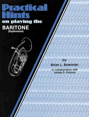 Practical Hints on Playing the Baritone   1985 edition cover