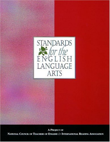 Standards for the English Language Arts   1996 edition cover