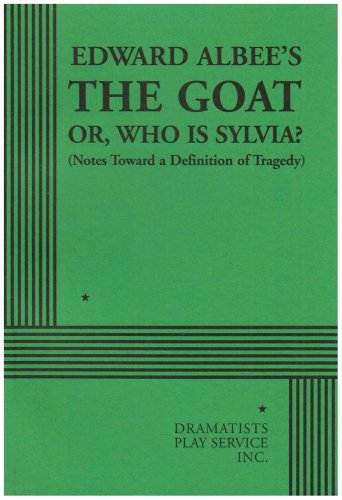 Goat, or Who Is Sylvia?   2003 edition cover