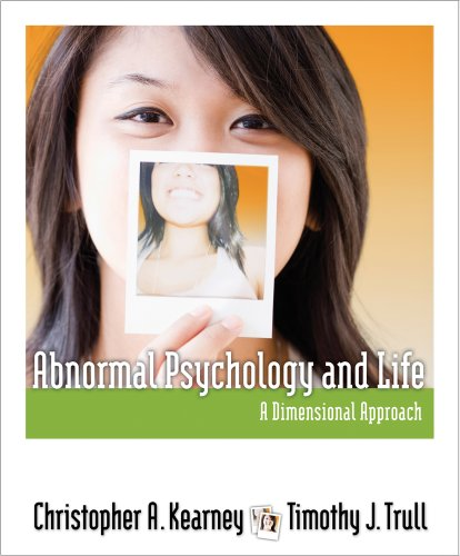 Abnormal Psychology and Life A Dimensional Approach  2012 edition cover