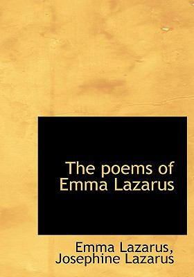 Poems of Emma Lazarus N/A 9781115275767 Front Cover