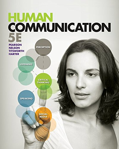 Human Communication  5th 2013 edition cover
