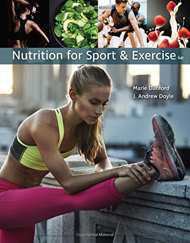 Nutrition for Sport and Exercise:   2018 9781337556767 Front Cover