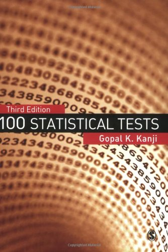 100 Statistical Tests  3rd 2006 (Revised) edition cover