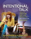 Intentional Talk How to Structure and Lead Productive Mathematical Discussions  2014 edition cover