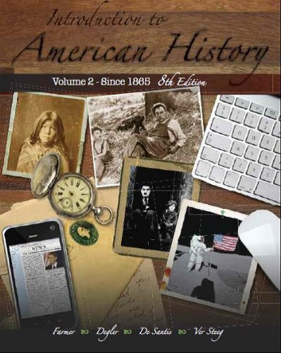 Introduction to American History  8th 2011 edition cover