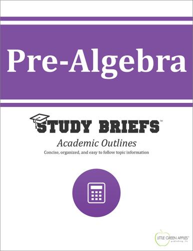 Pre-Algebra cover