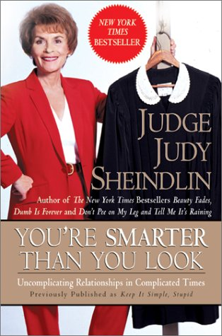 You're Smarter Than You Look Uncomplicating Relationships in Complicated Times N/A 9780060953768 Front Cover