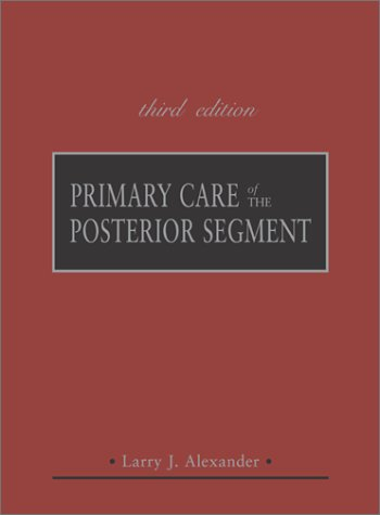 Primary Care of the Posterior Segment  3rd 2002 edition cover