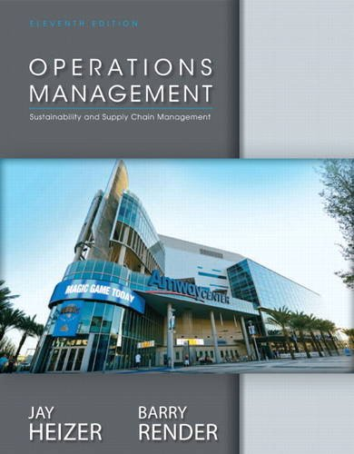 Operations Management  11th 2014 edition cover