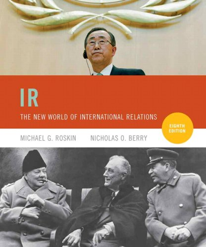 IR The New World of International Relations 8th 2010 edition cover