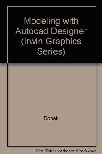 Modeling for AutoCAD Designer  1996 9780256213768 Front Cover